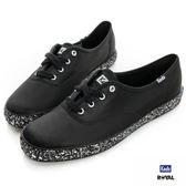 Keds 新竹皇家 CH GLITTER FOXING 黑色 緞面布 亮片 休閒鞋 女款 NO.I7114
