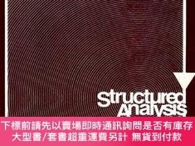 二手書博民逛書店Structured罕見Analysis and System Specification-結構化分析與系統規範奇