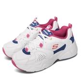 Skechers 休閒鞋 D Lites AIRY 2.0 X Sailor Moon 白 粉紅 女鞋 美少女戰士 運動鞋 老爹鞋 【PUMP306】 66666267WPKB