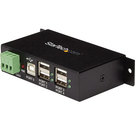 集線器 StarTech.com ST4200USBM 4-Port Industrial USB 2.0 Hub with ESD Protection - Mountable _TB2