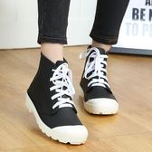 雨鞋   系帶雨鞋女成人韓國水鞋女式雨靴學生防水短筒防滑膠鞋中筒
