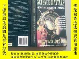 二手書博民逛書店SCIENCE罕見MATTERS(科學問題)精裝Y177665