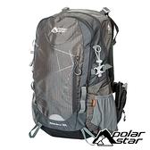 【PolarStar】透氣網架背包30L『沙灰』P18713 露營.戶外.旅遊.自助旅行.後背包.肩背包.手提包.行李包