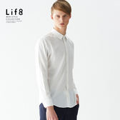 Formal 超親膚手感 經典斜紋 長袖襯衫-白色【11157】