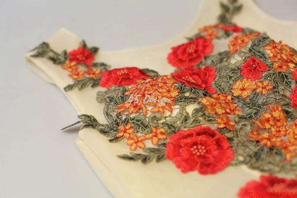 (45 Design)    7天到貨 客製化顏色大尺碼訂做訂做 日韓婚紗禮服 高級訂製服 連身裙 洋裝媽媽裝7