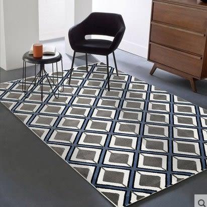 北歐房間簡約現代客廳沙發茶几臥室床邊家用滿鋪長方形可機洗地毯