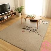 中式地毯臥室日式榻榻米地墊藤席夏季北歐涼席墊子定制【匯美優品】