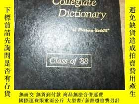 二手書博民逛書店WEBSTER罕見SNinth Hew Co11egiate D