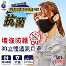 【衣襪酷】芽比 成人款/兒童款 3D立體抗菌口罩 布口罩 男女適用 台灣製