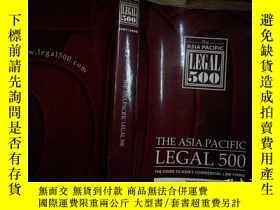 二手書博民逛書店THE罕見ASIA PACIFIC LEGAL 500 2007 2008Y206421