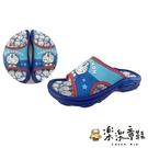【樂樂童鞋】台灣製哆啦A夢拖鞋 MN036 - 男童鞋 拖鞋 室內鞋 防水拖鞋 現貨