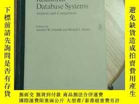 二手書博民逛書店Relational罕見Database Systems Analysis and Comparison 關系數據