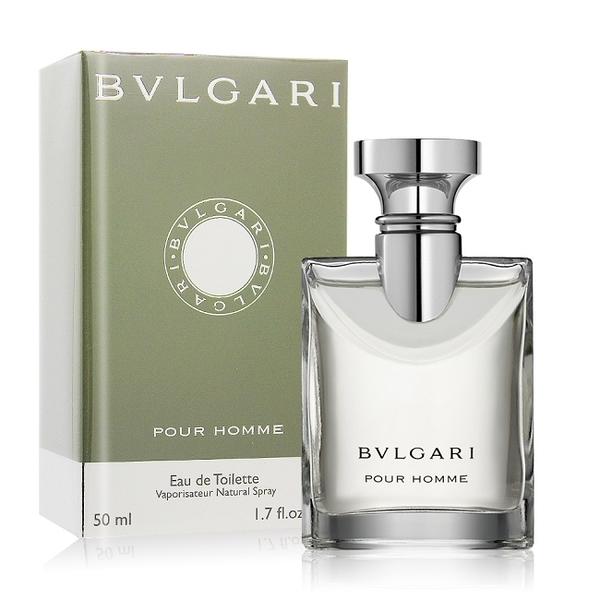 BVLGARI 寶格麗 大吉嶺男性淡香水 Pour Homme(50ml) EDT-公司貨