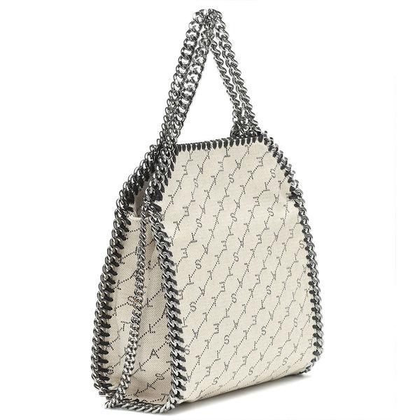 Stella McCartney Falabella系列  迷你款 兩用鍊帶包 米白色