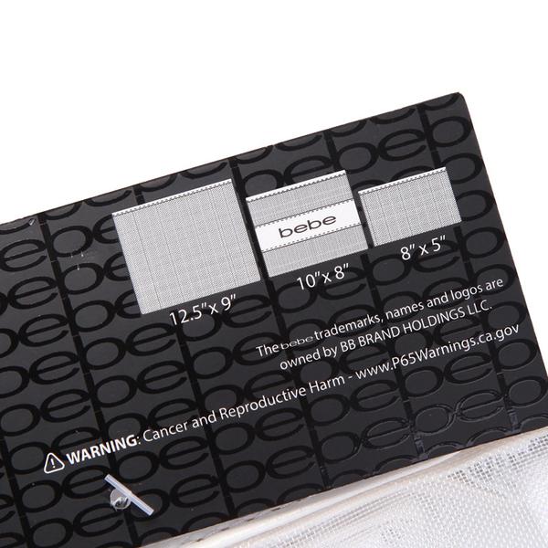 《花花創意会社》美單。三件組bebe皮革白網紗旅行包文件收納化妝包【H6800】