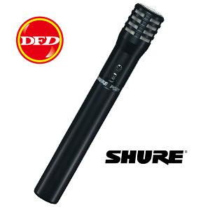 SHURE PG81-XLR 樂器麥克風 公司貨