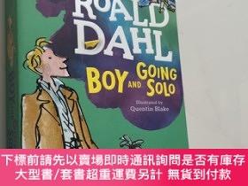 二手書博民逛書店NEW罕見Boy and Going Solo By Roald Dahl Paperback 新男孩與獨奏》作者
