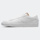 Nike Blazer Low '77 女鞋 休閒 復古 皮革 麂皮 全白【運動世界】DC4769-101