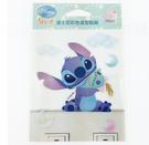 【收藏天地】迪士尼系列*裝飾貼紙-史迪奇抱小金開關貼 ∕  文創 送禮 卡通 可愛 裝飾 禮品
