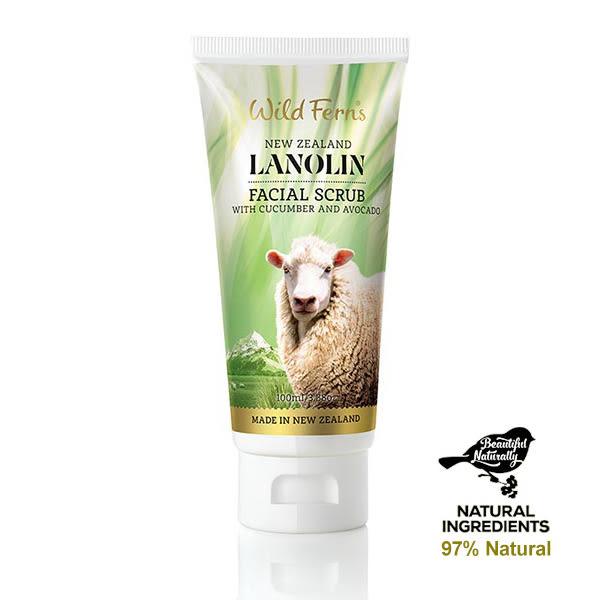 【即期良品】綿羊油酪梨去角質100ml (添加小黃瓜萃取) 有效期: 2019/08