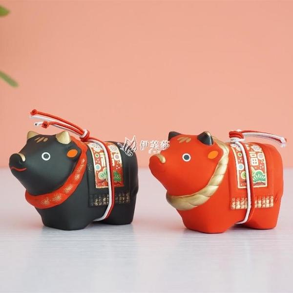交換禮物2021牛年開運招財日式小擺件出口