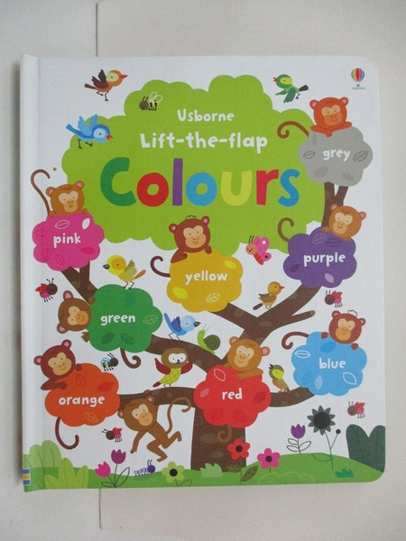 【書寶二手書T1/少年童書_D5O】Lift-the-flap Colours_Felicity Brooks,Melisande Luthringer