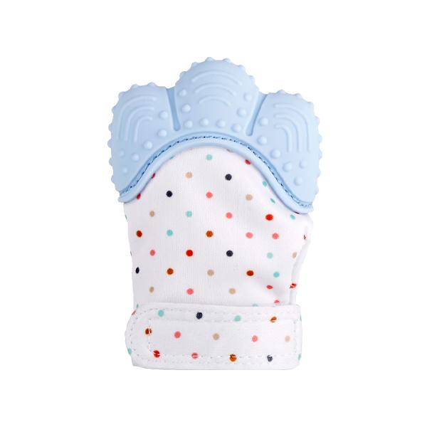 嬰兒牙膠手套 寶寶磨牙拳套牙膠-JoyBaby
