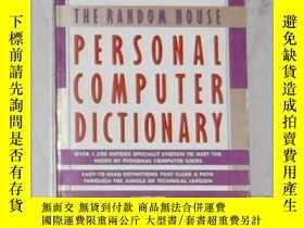 二手書博民逛書店英文原版罕見Random House Personal Comp