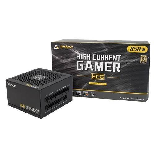 Antec 安鈦克 High Current Gamer HCG 850 W 80+金牌 全模組 10年保固 電源供應器