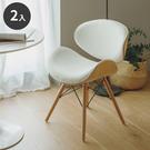 木椅 餐椅 椅 休閒椅【K0013-A】高橋皮革木餐椅2入(三色) 收納專科