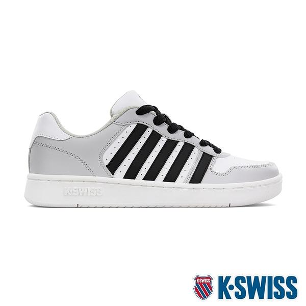 【超取】K-SWISS Court Palisades時尚運動鞋-男-白/灰/黑