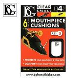 【小麥老師 樂器館】BG A11S 透明吹嘴護片 0.4mm 6片裝 豎笛、高音薩克斯風適用 吹口護片 墊片