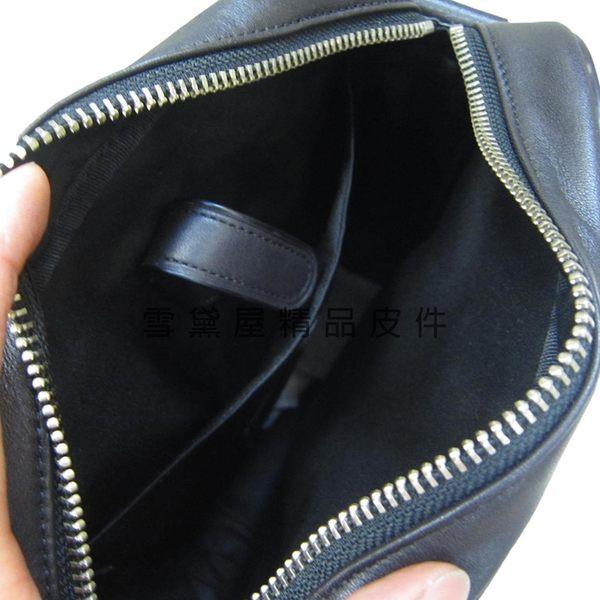 ~雪黛屋~COACH 斜側書包中容量休閒正式隨身品正版保證進口防水防刮皮革品證購證塵套提袋C717641