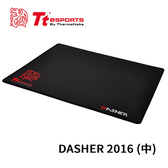 Tt eSports 曜越 競速者 DASHER 2016 (中) 布質表面 電競滑鼠墊 MP-DSH-BLKSMS-02