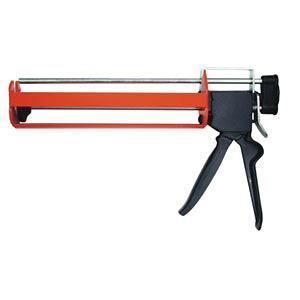 345ml 台灣製造專業型 雙液型鐵製植筋膠槍 植筋槍 植筋膠注射器 植筋專用填縫注射槍