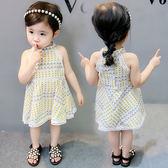 女童夏裝洋裝新款寶寶1歲3裙子吊帶純棉韓版時尚兒童公主裙