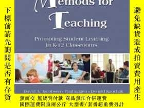 二手書博民逛書店Methods罕見For Teaching: Promoting Student Learning In K-12
