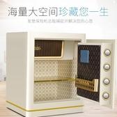 保險櫃家用小型45cm指紋密碼保險箱全鋼防盜辦公入墻保管箱柜 DJ162『易購3c館』