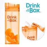 兒童戶外方形吸管水杯 / 水壺 355ml -水果橘 - Drink in the box 加拿大
