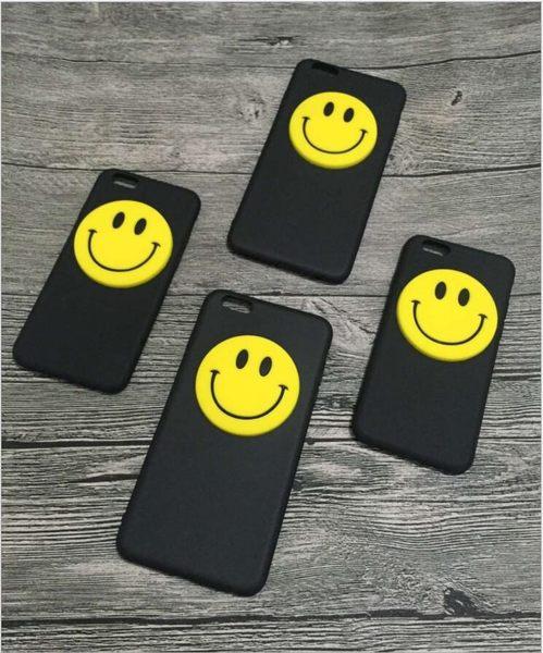 [24H 台灣現貨] iphone 6 6s 7 8 plus 立體 笑臉 手機殼 卡通 全包 矽膠 軟殼 保護套