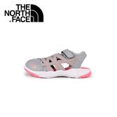 【The North Face 女童 多功能水陸鞋《灰白/蜜粉紅》】CW05/童鞋/戶外/旅遊/休閒鞋