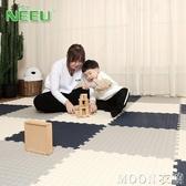 neeu泡沫地墊兒童爬行墊臥室爬爬墊拼接地墊家用拼圖地板墊子加厚 moon衣櫥