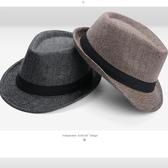 【YPRA】冬天戶外保暖紳士帽英倫爵士帽