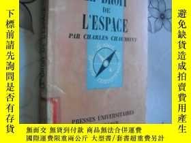 二手書博民逛書店Le罕見Droit de l espace : Par Char