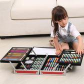 顏料組合畫畫筆工具小學生學習用品繪畫套裝HLW 交換禮物