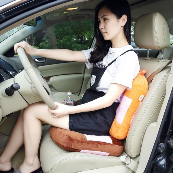 駕考練車學車坐墊增高加厚矮個汽車開車考駕照座墊專用墊子駕駛座