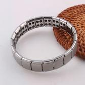 售完即止-防靜電無線手環能量平衡負離子鈦鋼手鍊情侶男女金銀款禮物10-23(庫存清出T)