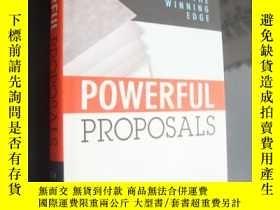 二手書博民逛書店POWERFUL罕見PROPOSALS:How to give