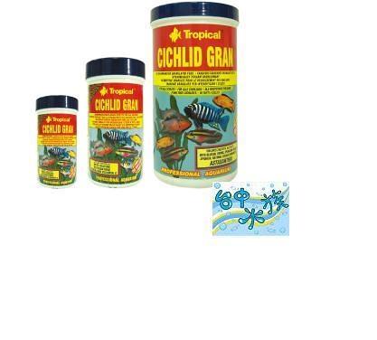 {台中水族}Tropical Tropical德比克慈鯛短雕顆粒飼料300ml --特價
