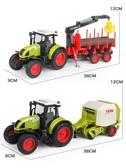 大號兒童農場玩具車農用拖拉機運輸慣性汽車工程車收割機模型男孩